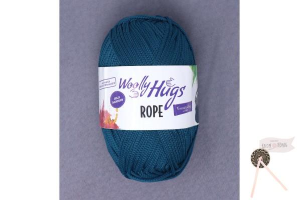 Woolly Hugs, Rope uni, mittelblau