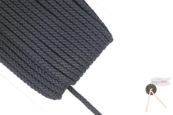 Flechtkordel schwarz, 10mm