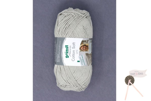 Cotton Soft uni lichtgrau