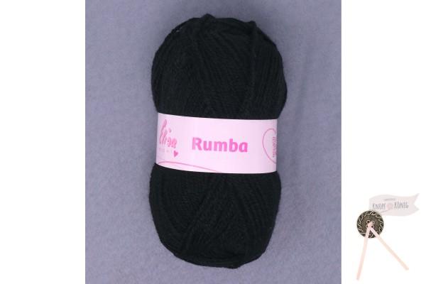 Rumba uni, schwarz