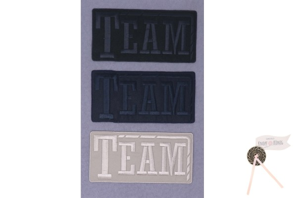 Applikation Team, 15,5x8cm