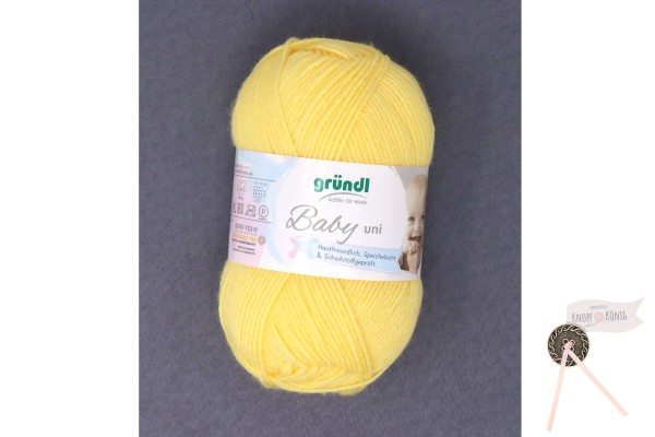 Babywolle gelb