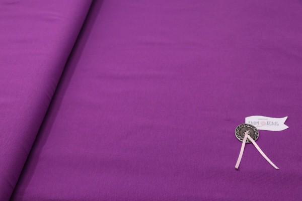 Baumwoll-Jersey purpur