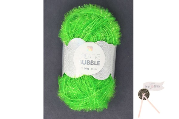 Bubble Creativ, neongrün