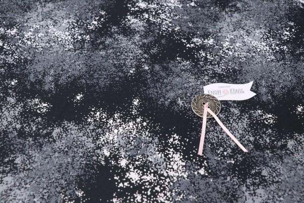 Baumwollstoff Weltall-Milchstraße